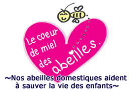 Bee's honey heart ~Our honey bees help save children's lives~